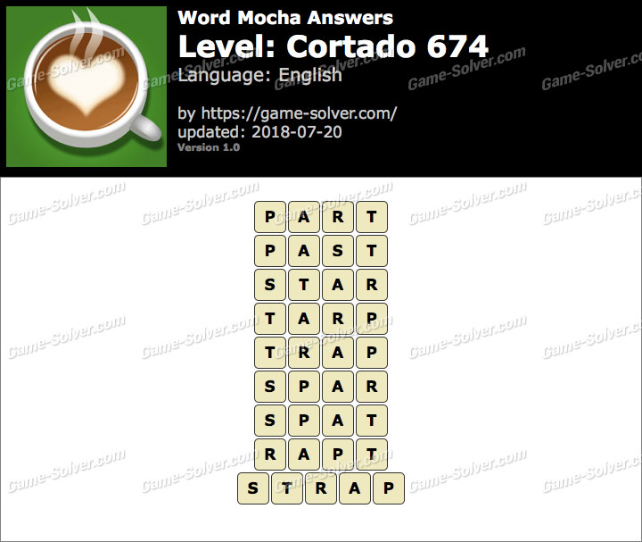 Word Mocha Cortado 674 Answers