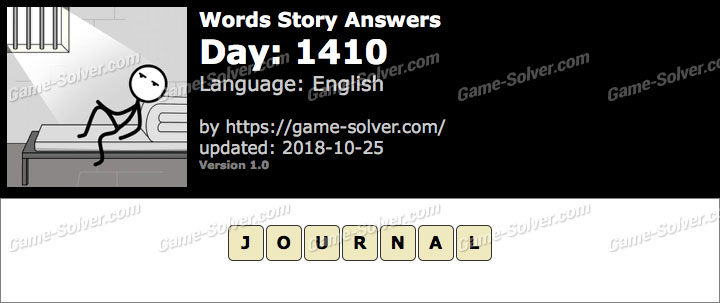 Words Story Day 1410 Answers