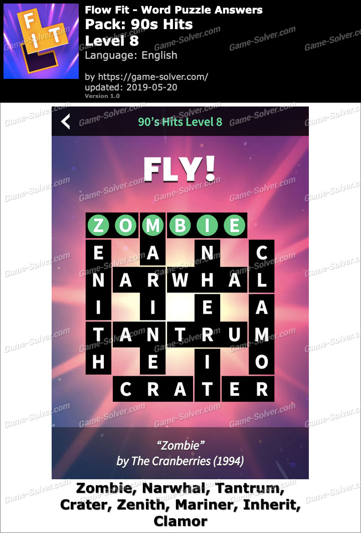 Flow Fit 90s Hits-Level 8 Answers