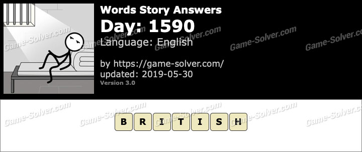 Words Story Day 1590 Answers