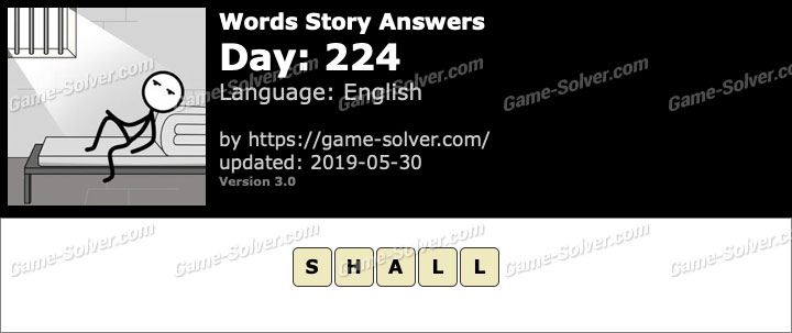Words Story Day 224 Answers