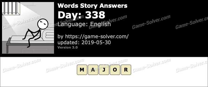 Words Story Day 338 Answers